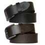 Sondagar Arts Men Formal Black, Brown Genuine Leather Belt Combo