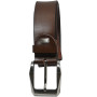 Sondagar Arts Italian Leather Formal Brown Belt For Men