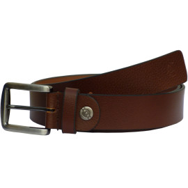 sab25_1-Brown Genuine Italian Leather Belts For Men
