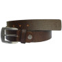 Sondagar Arts Mens Brown Italian Leather Belt