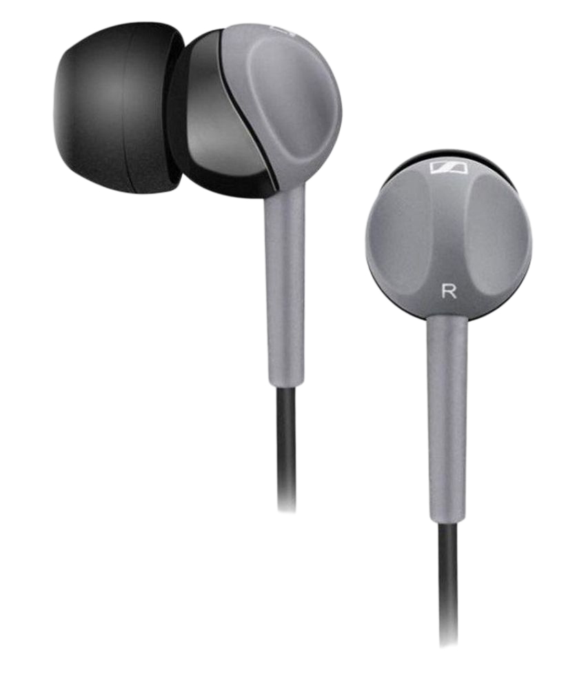 Ear Buds Wired Earphones Without Mic Gray SAEP005-1