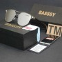 Luxury Mirror Branded Sunglasses