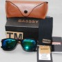 Basssy Double Shed Blue, Green Sunglasses