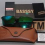 Basssy Green Sunglasses