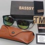 Basssy Matte Black Sunglasses